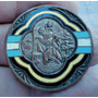 Monijor62- Antigua Medalla Plaqueta Esmaltada San Cristobal