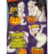 Halloween, Día De Muertos, Decorativas, Sickers, Calcomania