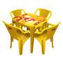 Kit 3 Mesas Skol + 12 Cadeiras Skol Com 10%desc Leia Anuncio