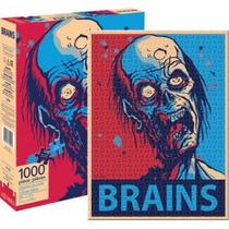 Rompecabezas 1000 Piezas Rostro Zombie Aquarius 65222 Games