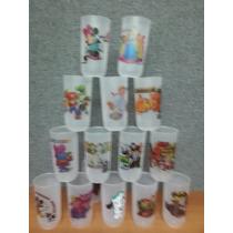 Vasos Para Cotillones Personajes Variados Para Niñas