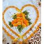 Pano De Prato Coração Com Croche Frete Barato