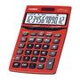 Calculadora De Mesa Rojo, 12 Digitos Jf-200tv-rd
