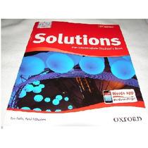 Inglés- Solutions Pre Intermediate Student