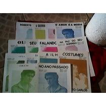 Roberto Carlos 16 Partituras Musicais Em Ótimo Estado