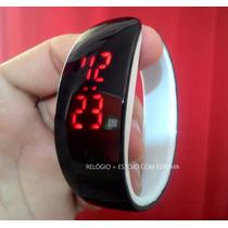 Relógio Masculino Feminino Led Digital Bracelete Pulseira