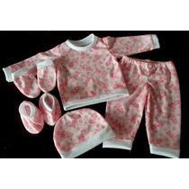 Pijamas 5 Piezas Para Bebb