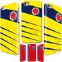 Carcasa Iphone 6-6s-plus-se-5s-4s Selección Colombia Amarill