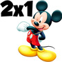 Kit Imprimible Mickey Mouse Disney Candy Bar Golosinas 2x1
