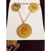 Coordinado Rolex De Chapa De Oro