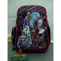 Mochila Monster High Marca Ruz Importada