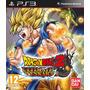 Dragon Ball Z Ultimate Tencaichi,ps3 Fisico, Nuevo Y Sellado