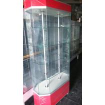 Aparador Exhibidores Vitrina Mostrador De Cristal