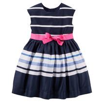 Vestidos De Fiesta Carters Bonnie Jean 24m-6x