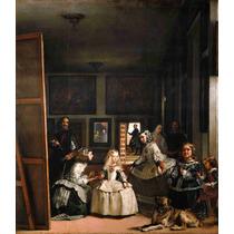 Lienzo Tela Las Meninas Diego Velázquez 1656 Arte España