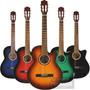 Guitarra Criolla Con Corte Funda Pua Gtia Zona Oeste