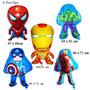 Globos Metalizados Avenger Mikey Hulk Spiderman Y Mas