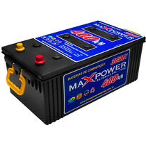 Bateria Maxpower 400ah 3000a Para Som Automotivo Max Power
