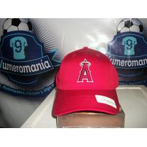 Gorra New Era Beisbol Mlb Los Angeles Anaheim Ajustable Roja