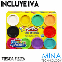 Plastilina Play Doh Kit De 10 Colores - 29413