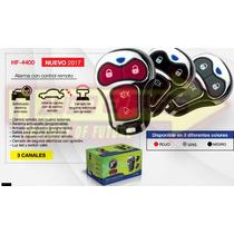 Alarma Con Control Remoto 3 Canales Hf Modelo Hf4400