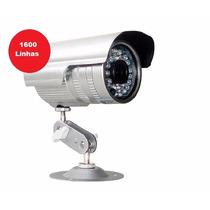 Câmera Segurança Infravermelho 1/3 3,6mm 1600 Linhas