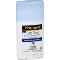 Neutrogena Ultra Sheer Cara Y Cuerpo Palillo De Protección S