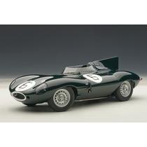 Jaguar D-type 1955 Auto A Escala De Colección