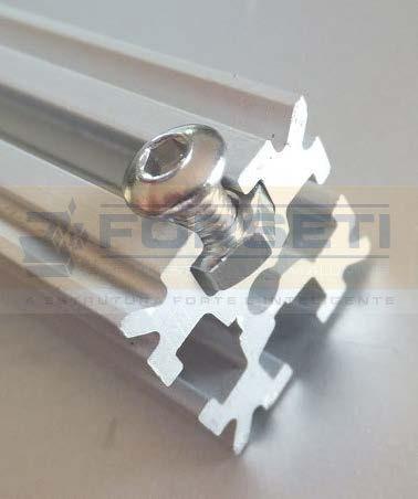 Perfil Estrutural De Alum 237 Nio 15x15 R 21 50 Em