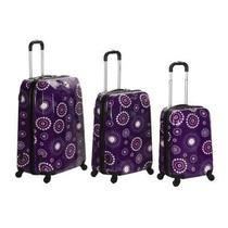 Maletas viaje color primario violeta maletas en mercado - Maletas platinium ...