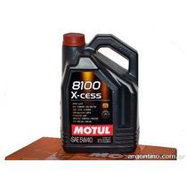 Aceite Motul 8100 X-cess 5w40 5lts Sintetico 100% Original!!