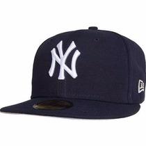 Boné New Era Aba Reta New York Yankees Preto Original