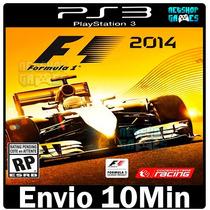 F1 2014 - Formula 1 Original Codigo Psn Ps3 - Envio Imediato