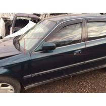 Pestana Porta Honda Civic 1998 A 2000 Dianteira Esquerda