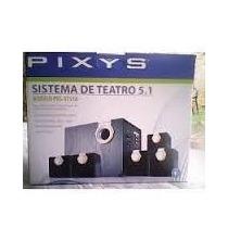 Sistema De Teatro En Casa 5.1 Pixys