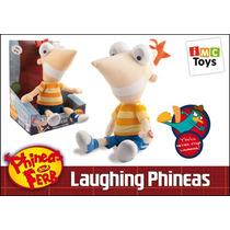 Peluche De Phineas Original De Disney Con Sonido