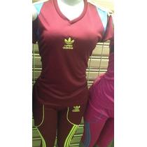 Conjunto Deportivo Para Damas Licras Adidas
