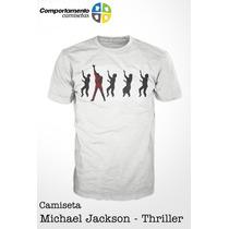 Camiseta - Michael Jackson - Thriller - Música