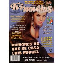 Lucero En Portada De Tv Y Novelas 1993