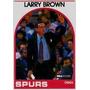 Cl27 1989-90 Hoops #102 Larry Brown 1-40