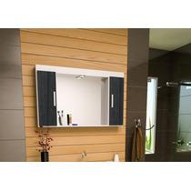 Espelheira Com Armário Para Banheiro Ferrara