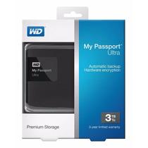 Hd Externo Western Digital Wd My Passport Ultra 3tb Usb 3.0