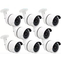 Kit 8 Câmeras Segurança Infra Ahd- M 1.3 Mp Ir-cut 3.6mm