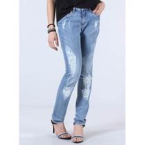 Calça Jeans Skinny Feminina Denuncia