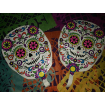 Día De Muertos Halloween Globo Metálico 14 Pulgadas