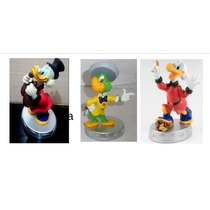 Miniatura Disney Tio Patinhas1,2 + Ze Carioca Lacrados Deago