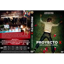 Pelicula Dvd Fiesta Proyecto X Project Que Paso Ayer? Comica