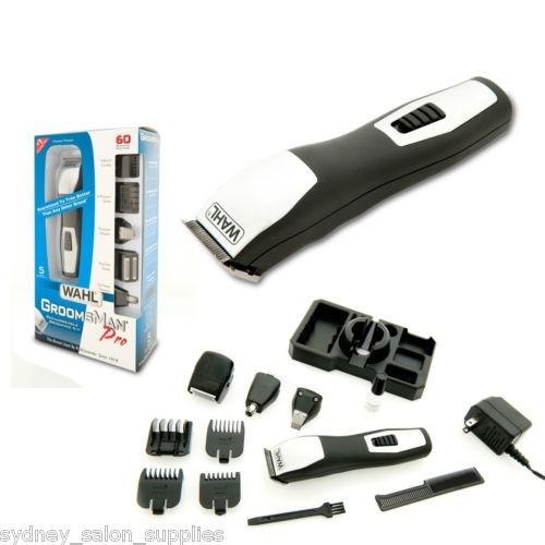 bbf547574 Aparador Wahl Groomsman Pro 4 Em 1 Bi-volt Desenho Completo - R  298 ...