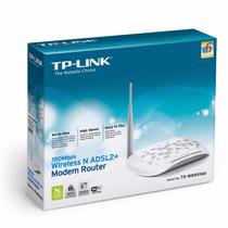 Modem Router Td-w8951nd Inalámbrico N Adsl2+ De 150mbps