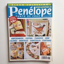 Revista Penélope Ponto De Cruz Cortinas Quadros Bebé Nº34